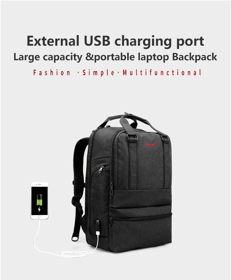 06e5707f727 Product details of 2017 Tigernu Waterproof Anti-theft Laptop backpack for  12-15.6