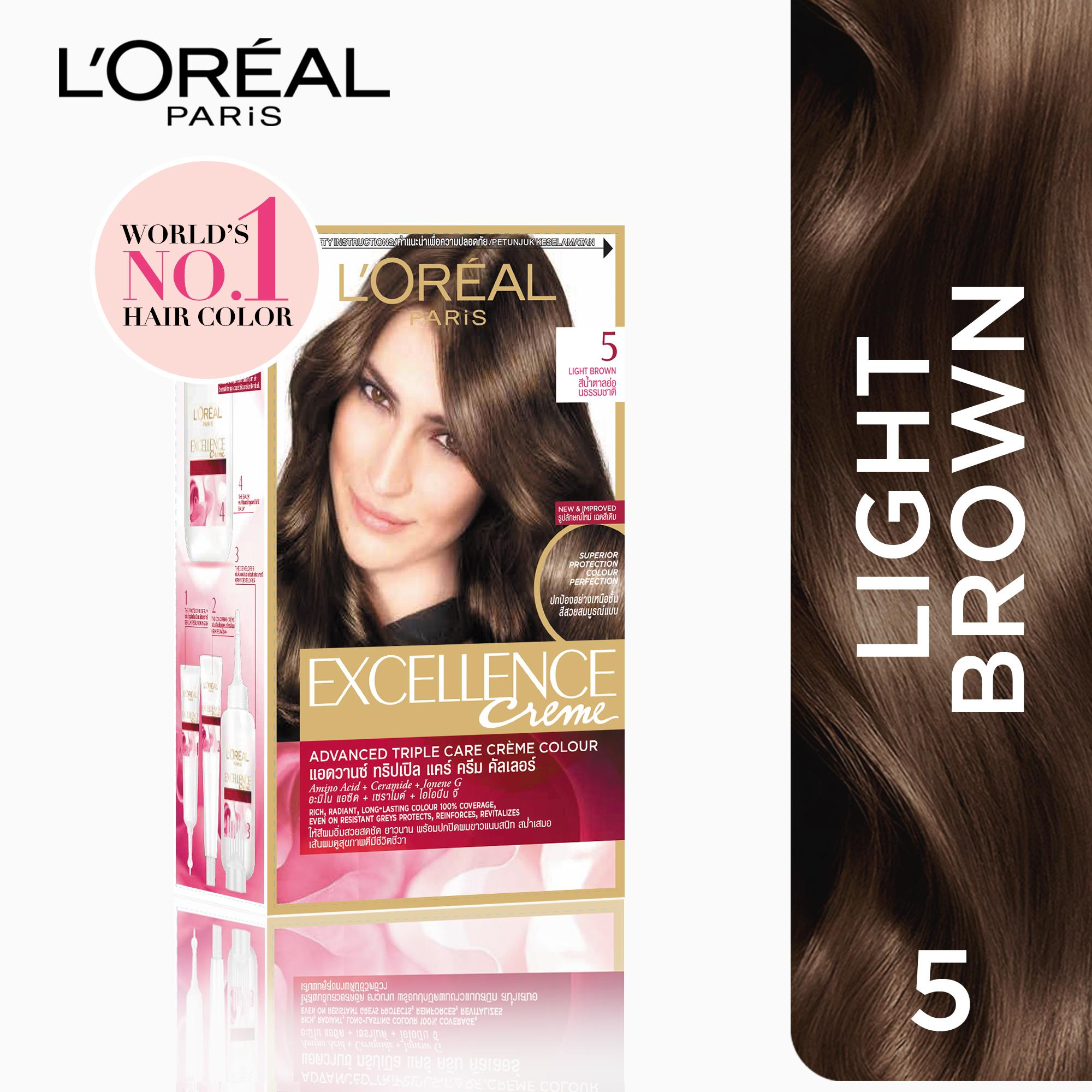 Loreal Excellence Hair Color Natural Brown Best Hair Color