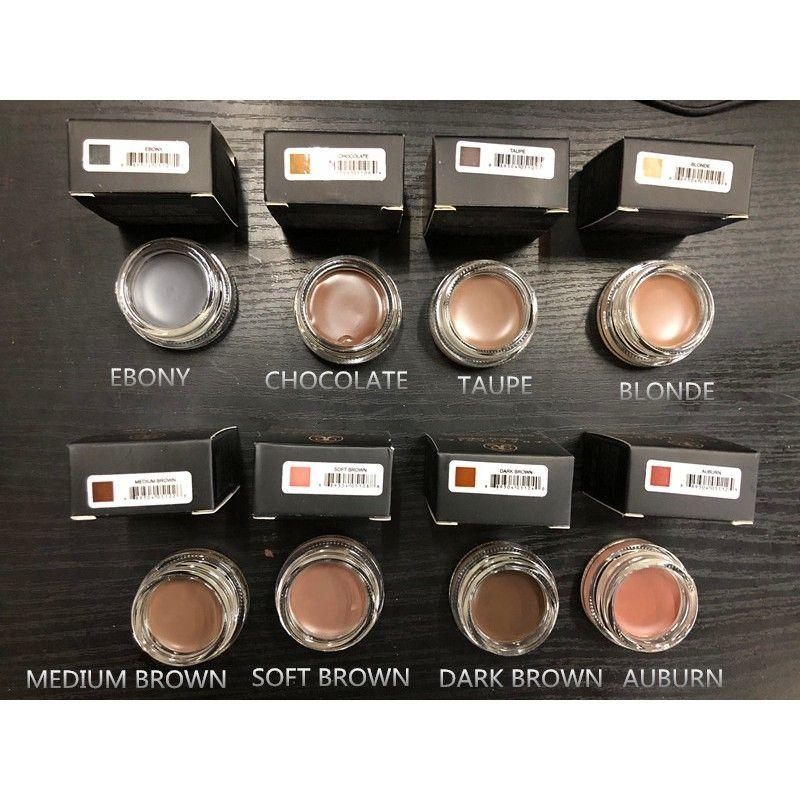 Dipbrow pomade With Free Duo brush(medium brown) Philippines