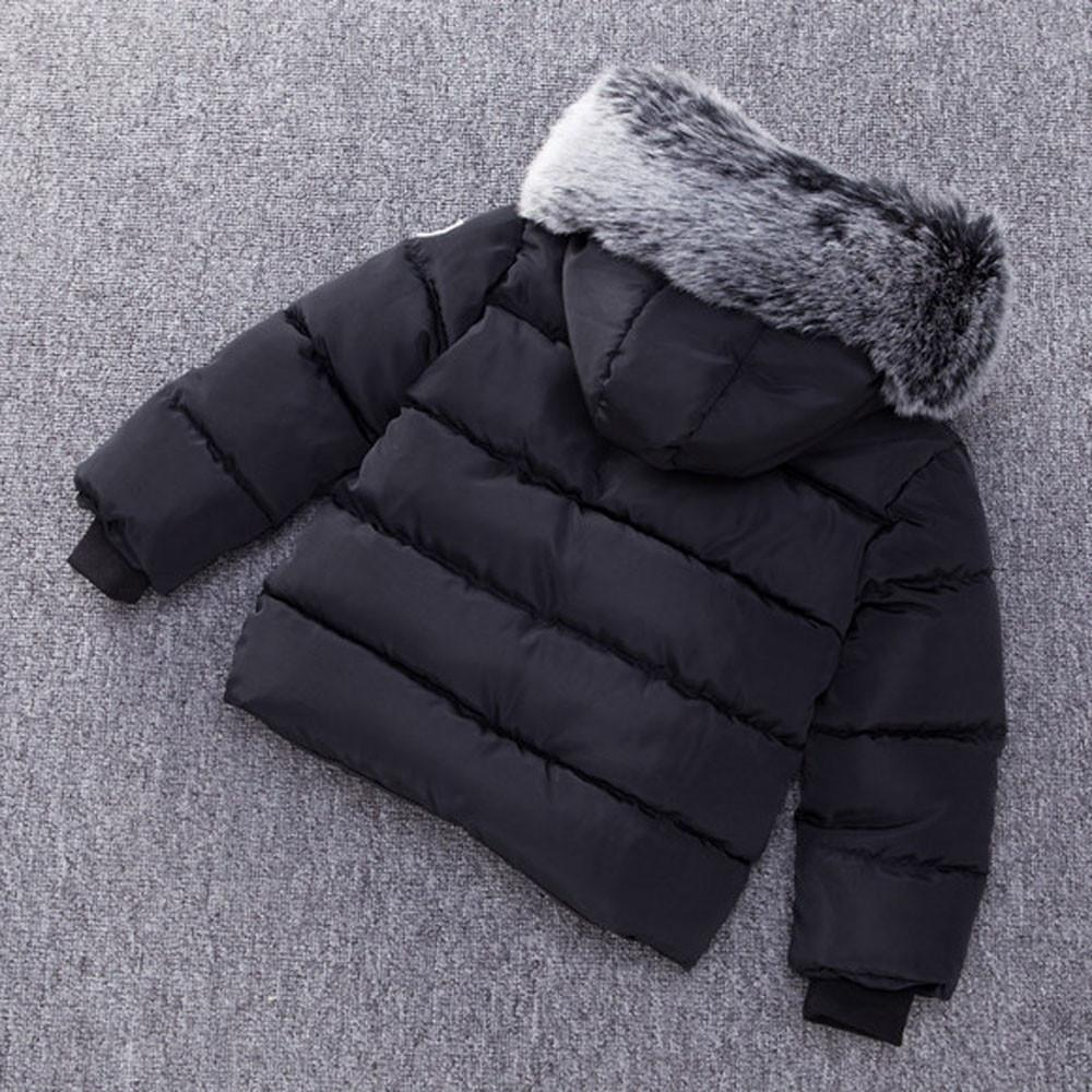 Tideshop Baby Girl Boy Winter Cotton Hooded Coat Jacket Thick Warm Zipper Outwear Clothes By Tideshop.