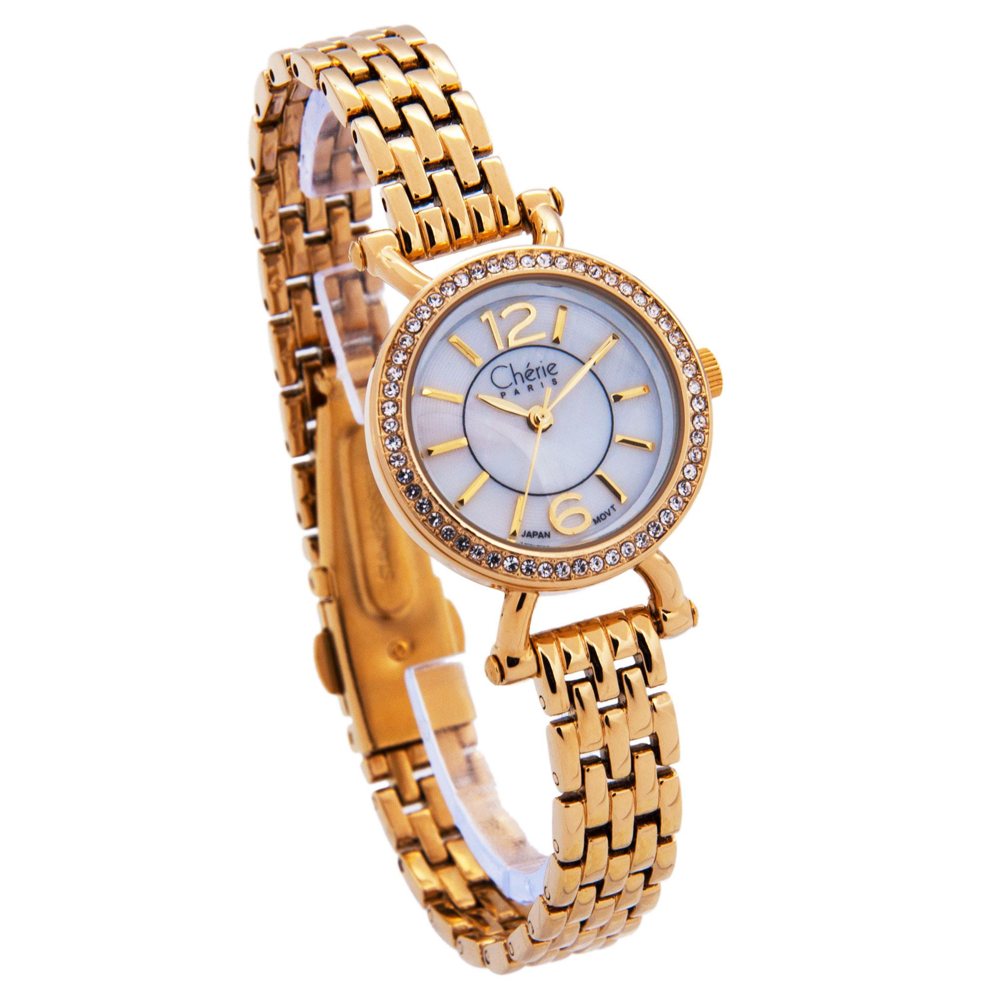 Cherie Paris Trina Women Metal Strap Analog Watch CHR-1743 (Fashion Collection)