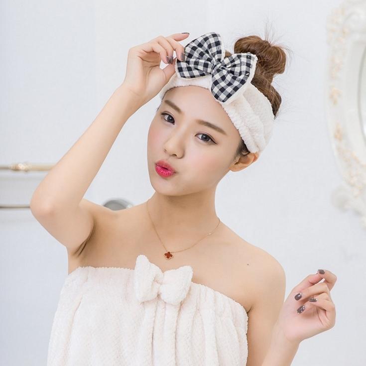 Topi rambut kering Menyerap Kuat Handuk Pengering Rambut Lebih tebal menggosok rambut cepat kering handuk sorban
