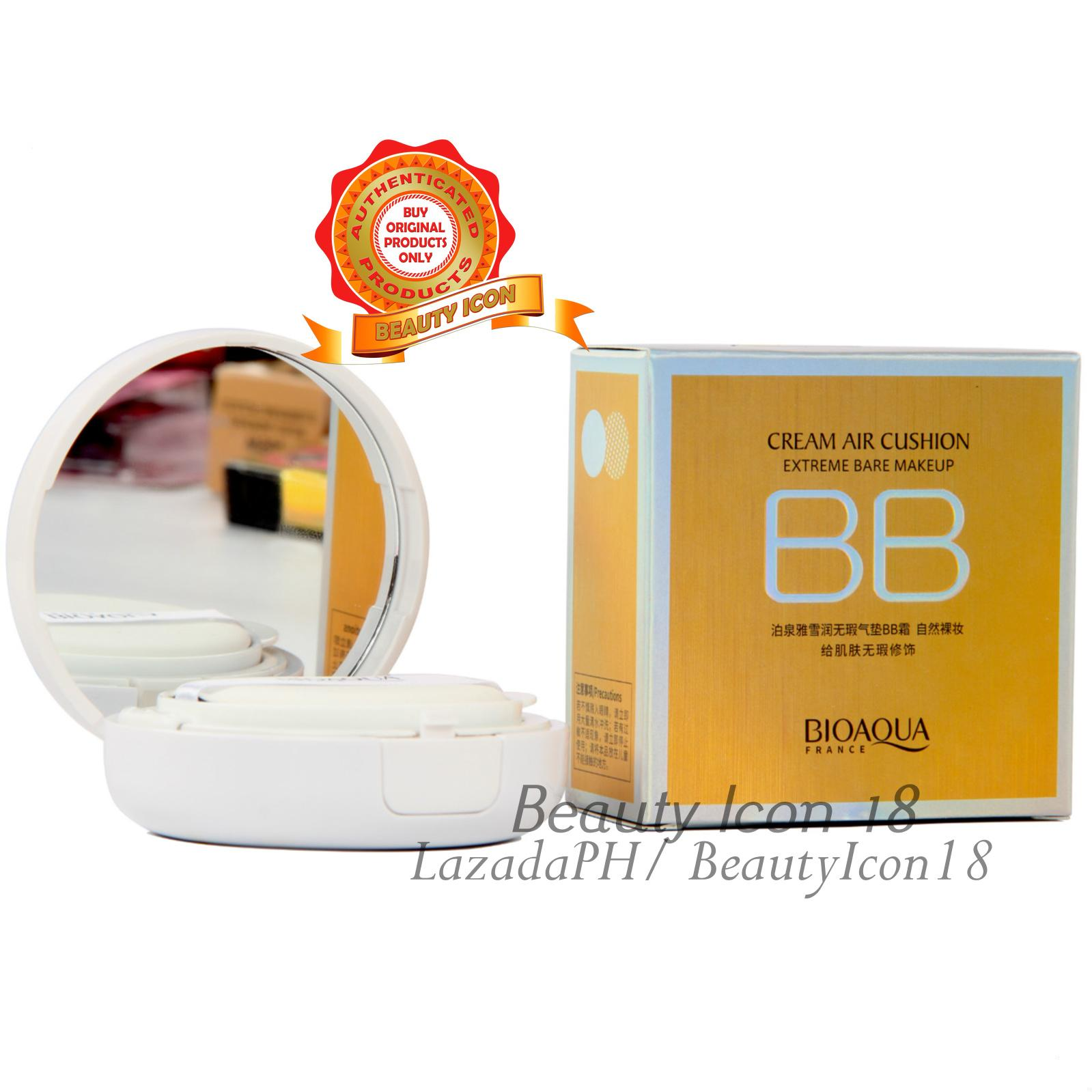 Discount Bioaqua Bqy4891 5 Light And Shiny Air Cushion Cream 15g Bio Aqua Aircusion Sunscreen Concealer Moisturizing Foundation Natural Color