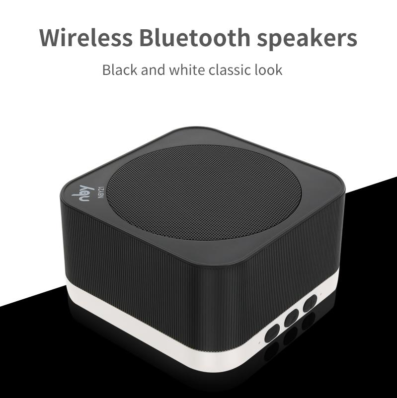 a73f0a9ecd3 NBY-21 Portable Wireless Bluetooth Speaker with Microphone Hands-free Call  HD Sound and