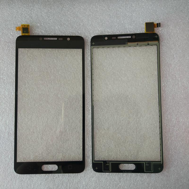 Touch Screen Digitizer Black For Alcatel Pop 4S OT5095 5095 5095Y Touch screen Front Digitizer Glass Sensor Touch Panel Touchpad (free +3m Tape+Opening Repair Tools+glue )