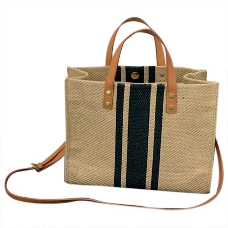 กระเป๋าเป้สะพายหลัง นักเรียน ผู้หญิง วัยรุ่น ชลบุรี Large Shopper Bag Jumbo Canvas Totes Beach Bag Big Shoulder Bag Summer Striped Casual Totes