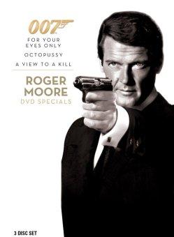 007 Roger Moore 3-IN-1 DVD Specials