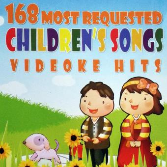 168 MOST REQUESTED CHILDREN'S SONGS VIDEOKE HITS Price Philippines