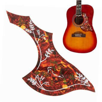 1Pcs Acoustic Guitar Anti-Scratch Folk Pickguard Guard Plate Guitar Parts Decor
