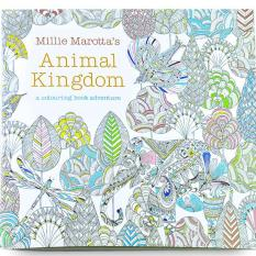 1pcs Animal Kingdom 2016 New Secret Garden An Inky Treasure Hunt And Coloring Book For Children Adult Relieve Stress Kill Time Graffiti Painting Drawing