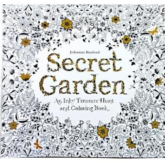 1pcs-Secret Garden 2016 New Secret Garden An Inky Treasure Hunt andColoring Book for Children Adult Relieve Stress Kill Time GraffitiPainting Drawing Book - Intl Price Philippines