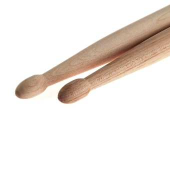 2 X 5A Drum Sticks Music Band Maple Wood Tip Jazz Percussion Accessories - 4