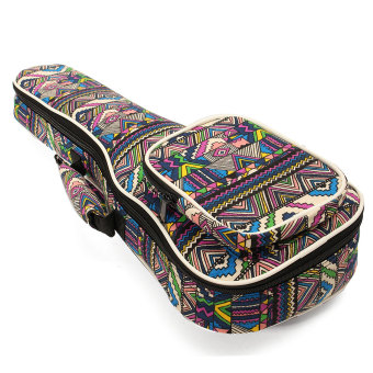 23'' Canvas Soprano Ukulele Concert Ukulele Shoulder/Back Gig Bag Case - Intl