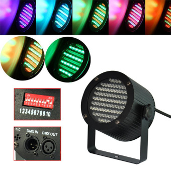 25W 86 RGB LED par Stage Light DMX-512 Lighting Laser DJ KTV DiscoUS Plug