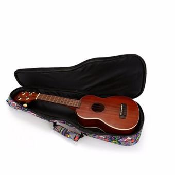 26'' Canvas Soprano Ukulele Concert Ukulele Shoulder/Back Gig Bag Case - Intl - 3