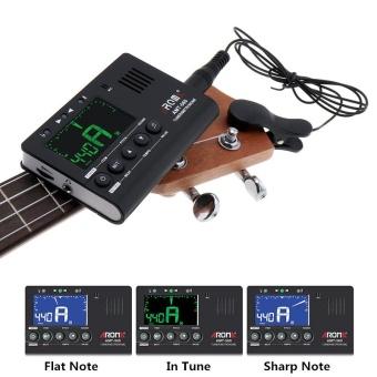 3 in 1 Guitar Metronome Tuner Tone Generator LED Screen Built-inMic with Pickup Function for Chromatic / Guitar / Bass / Violin /Ukulele - intl - 2