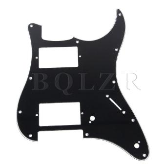 3-ply Electric Guitar Pickguard Scratch Plate Black