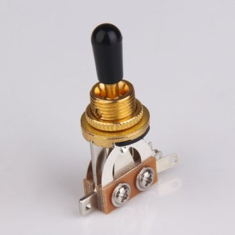 3-Way Guitar Selector Pickup Toggle Switch Parts for Les Paul Gold(Intl)