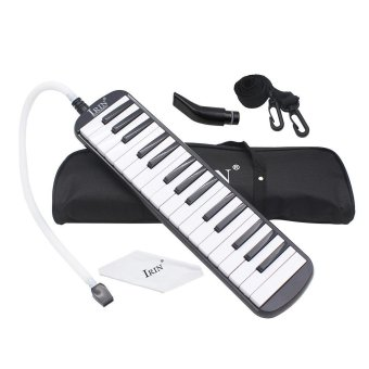 32 Piano Keys Melodica Musical Education Instrument for Beginner Kids Children Gift with Carrying Bag Black Outdoorfree - intl