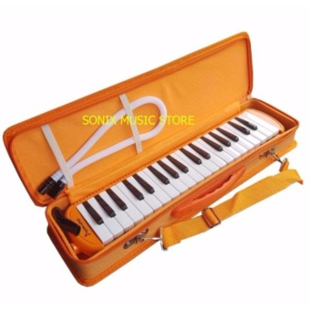 37 Key Melodica Orange