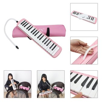 37 Piano Keys Melodica Pianica Musical Instrument with Carrying Bagfor Students Beginners Kids