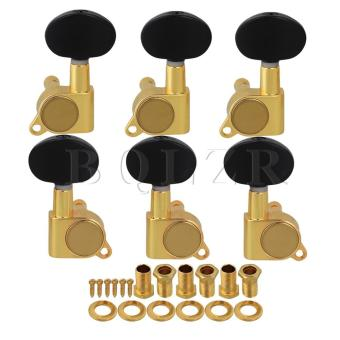 3R3L Body Amber Button Guitar Machine Heads Tuners Gold