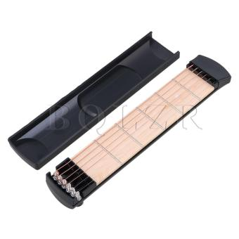 6 Fret 6 String Pocket Guitar Black