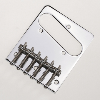 6 Saddle Bridge for Fender Telecaster Guitar Chrome