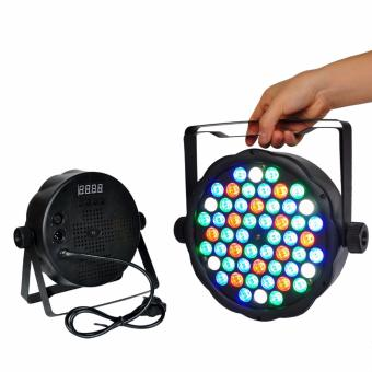60W 54 LED Flat Stage Light RGB Par Light DMX512 Master Slave