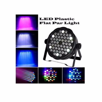 60W 54 LED Flat Stage Light RGBW Par Light DMX512 Master Slave#0123