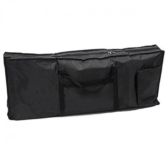 61 Key Electric Piano Keyboard Padded Case (Black)