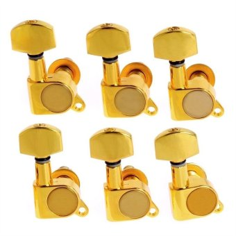 6pcs Golden Guitar String Tuning Pegs Tuners Machine Heads
