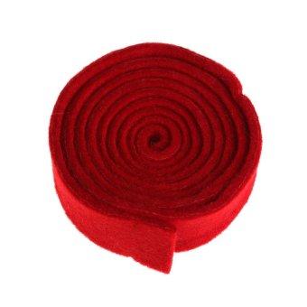 9 Pcs/set Piano Tuning Hammer Wool Mute Temperament Strip Tools Kitwith Black Zip Bag for Piano Tunning or Repairing - intl - 5