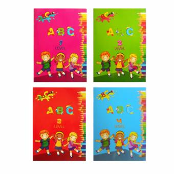ABC Level 1-4 Educational Activity Book for Kids