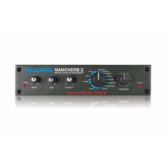 Alesis Nanoverb 2 | Digital Effects Processor (black)
