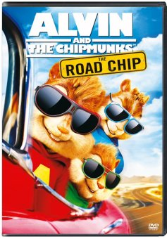 Alvin and The Chipmunk Road Chip DVD