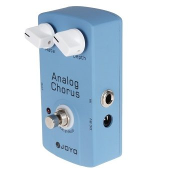 Analog Chorus Guitar Audio Effect Pedal with True Bypass - Intl