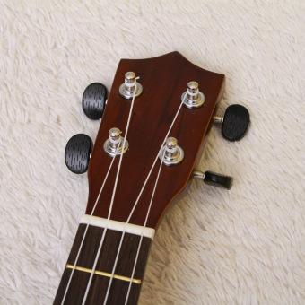 Angesi 23 Inch 12 Colors Ukulele Musical Instrument Hawaiian Small Guitar (Light Green) - Intl - 5
