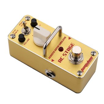 AROMA AAS-3 AC Stage Acoustic Guitar Simulator Mini Single ElectricGuitar Effect Pedal