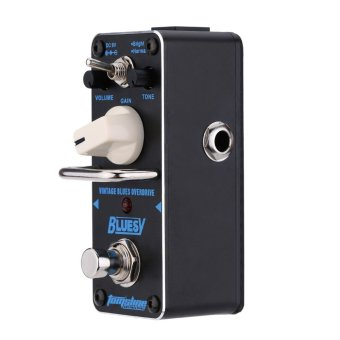 AROMA ABY-3 Bluesy Vintage Blues Overdrive Mini Single ElectricGuitar Effect Pedal with True Bypass