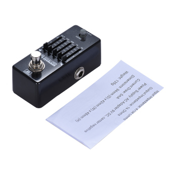 AROMA AEB-5 5-Band Graphic EQ Bass Guitar Equalizer Effect Pedal Aluminum Alloy Body True Bypass - intl - 3