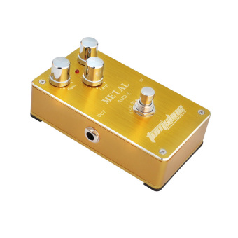 Aroma AMD-1 Metal Distortion Electric Guitar Effect Pedal AluminumAlloy Housing True Bypass