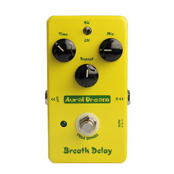 Aural Dream Breath Delay Analog Effects Electric Guitar EffectPadel - Intl Price Philippines