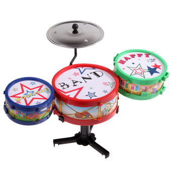 Baby Infant Jazz Drum Rock Set Christmas Xmas Gift Music Educational Toy - picture 2