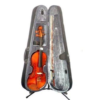 Bachendorff RV305BL 4/4 Violin Set (Natural Glossy)