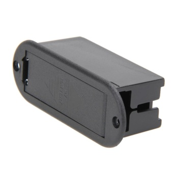 Battery Cover Case Holder Box Compartment for Guitar Bass - intl
