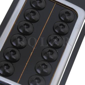 Black Round Screws N/B Humbucker Pickups for Electric Guitar Set of2 - Intl - 4