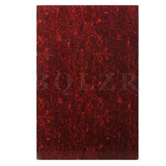 Blank 29cm x 43cm scratch plate pick guard sheets Red Price Philippines