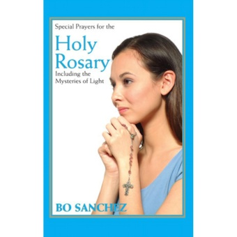 Bo Sanchez Holy Rosary Booklet , Inspirational Book, Paperback, 1pc