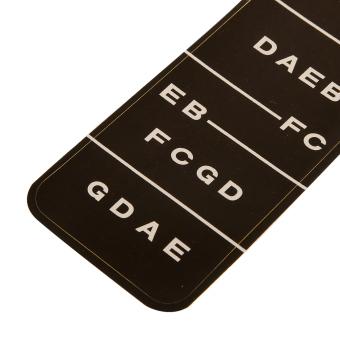 BolehDeals 1 Violin Fiddle Fingerboard Stickers Fret Marker Labels Fingering Chart 4/4 - intl - 3